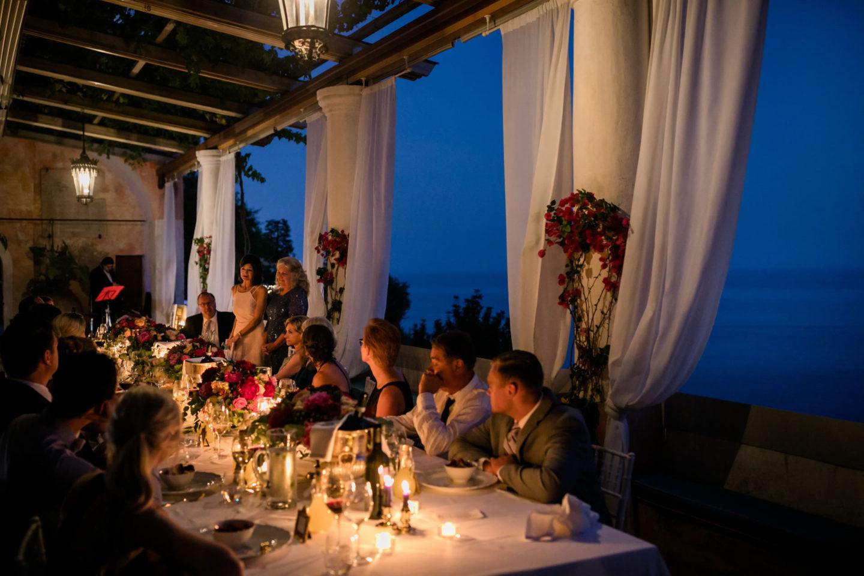 Candlelight :: Wedding in Positano. Sea and love :: Luxury wedding photography - 55 :: Candlelight