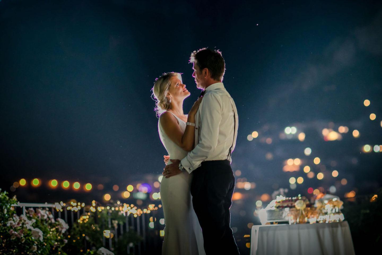 Romance :: Wedding in Positano. Sea and love :: Luxury wedding photography - 59 :: Romance