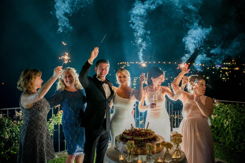 Sparkles :: Wedding in Positano. Sea and love :: Luxury wedding photography - 61 :: Sparkles