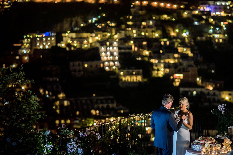 Night Lights :: Wedding in Positano. Sea and love :: Luxury wedding photography - 62 :: Night Lights