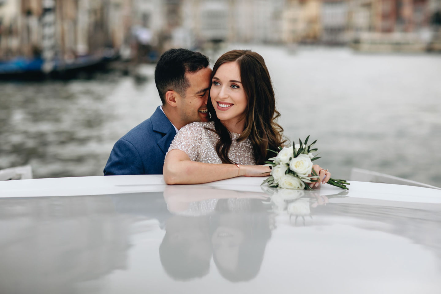Romantic elopement in Venice :: Luxury wedding photography - 1