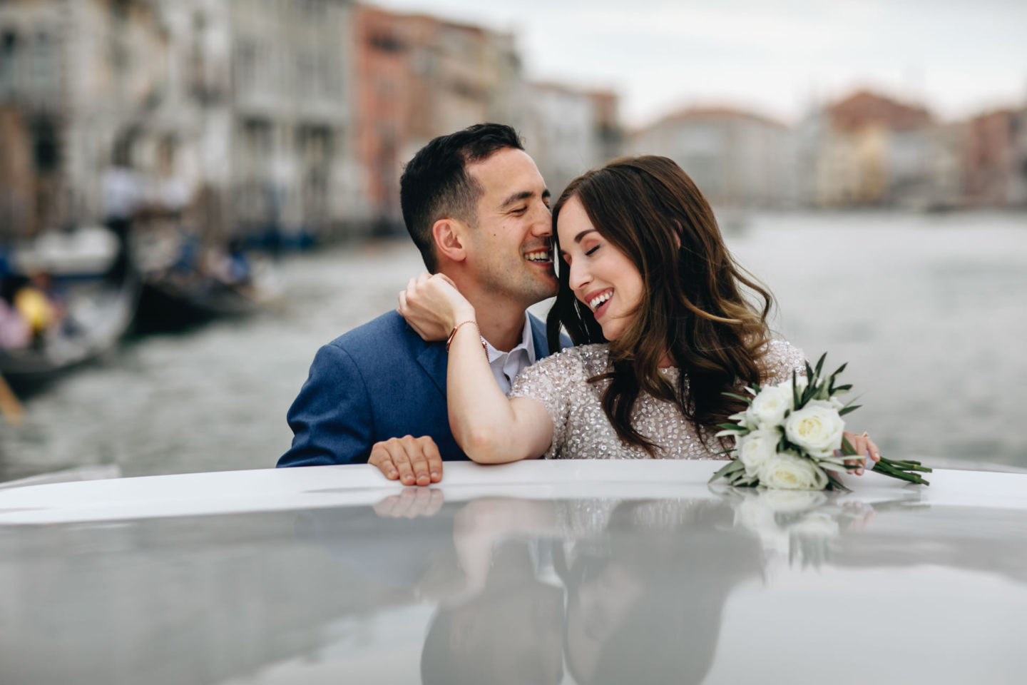 Romantic elopement in Venice :: Luxury wedding photography - 2