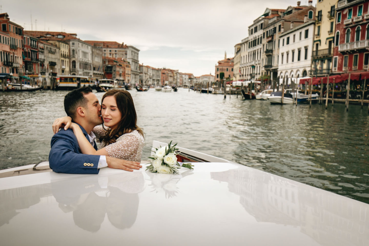 Romantic elopement in Venice :: Luxury wedding photography - 3
