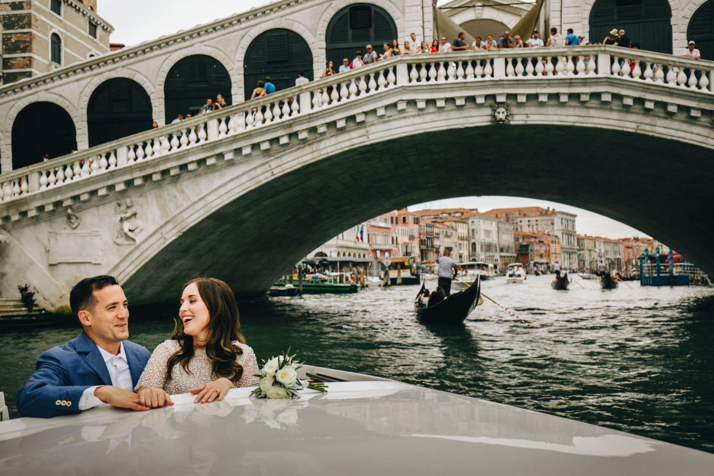 Romantic elopement in Venice :: Luxury wedding photography - 4