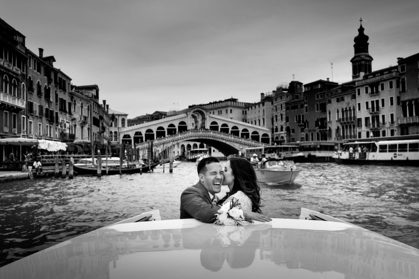 Romantic elopement in Venice :: Luxury wedding photography - 8