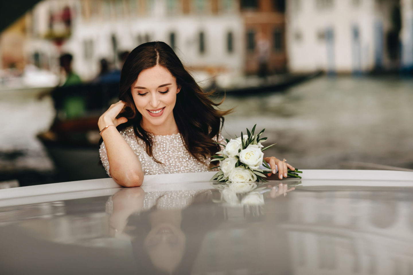 Romantic elopement in Venice :: Luxury wedding photography - 9