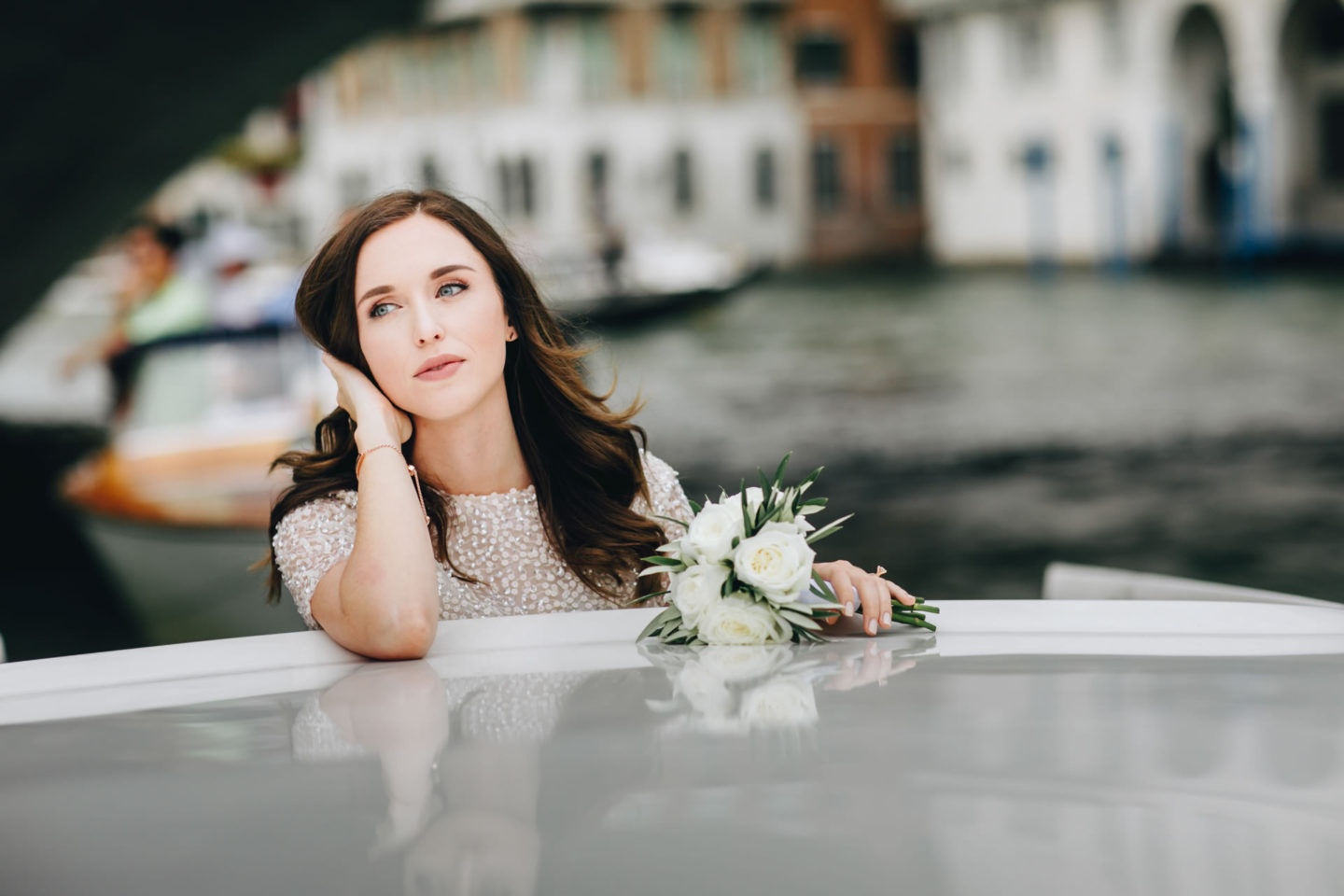 Romantic elopement in Venice :: Luxury wedding photography - 10