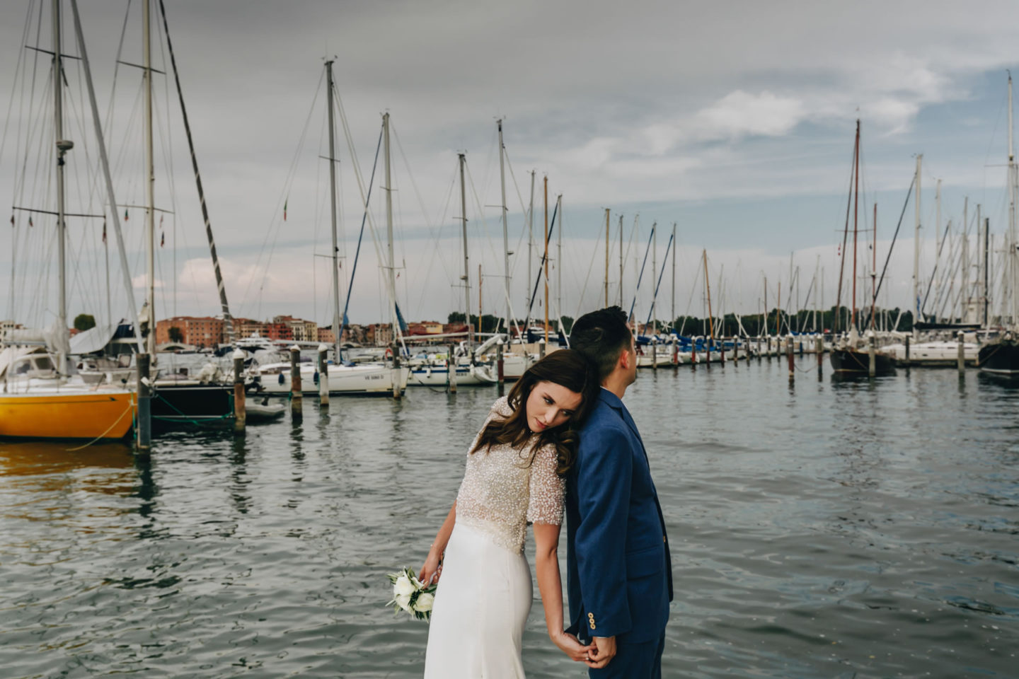 Romantic elopement in Venice :: Luxury wedding photography - 30