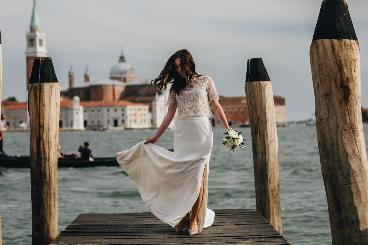 Romantic elopement in Venice :: Luxury wedding photography - 34