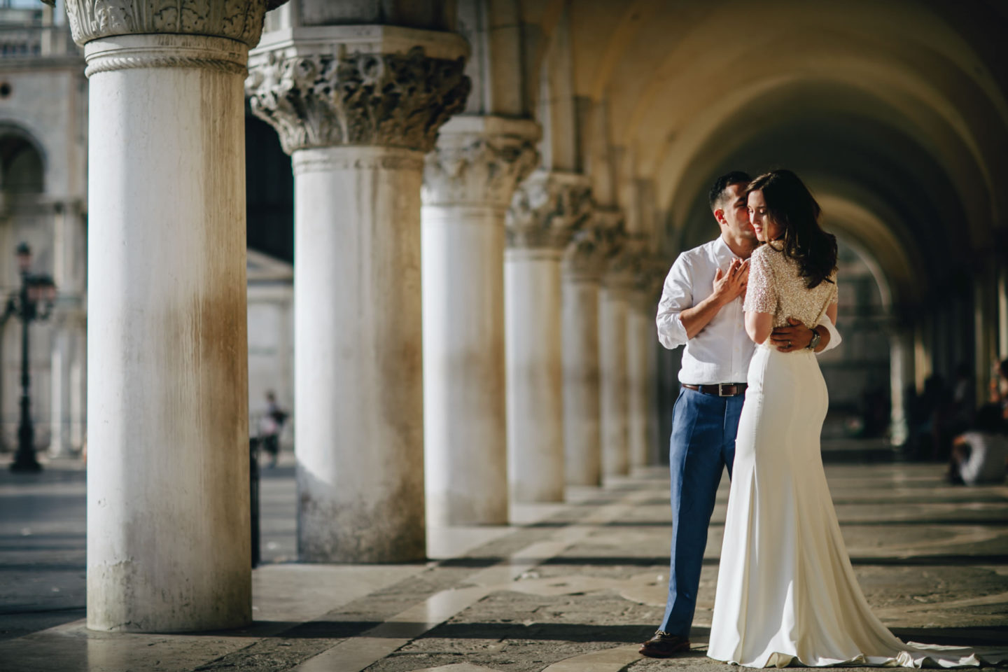 Romantic elopement in Venice :: Luxury wedding photography - 40
