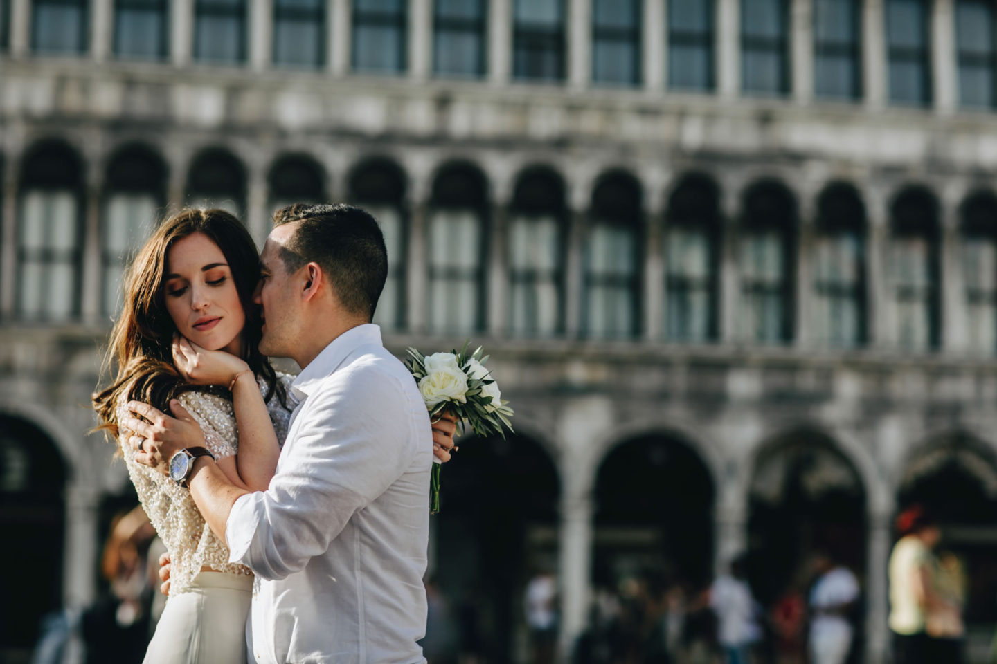 Romantic elopement in Venice :: Luxury wedding photography - 43
