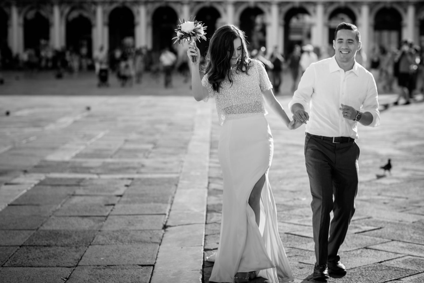 Romantic elopement in Venice :: Luxury wedding photography - 44