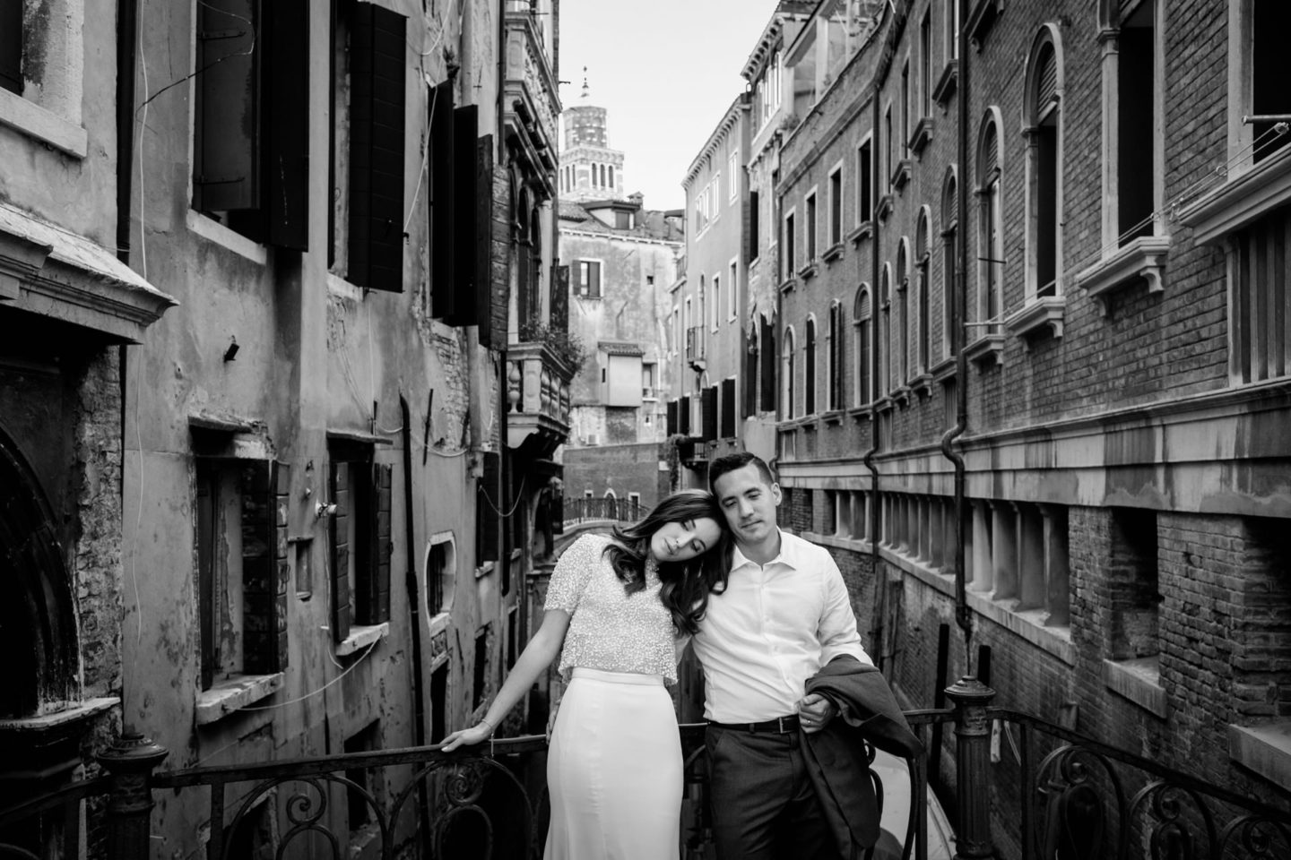 Romantic elopement in Venice :: Luxury wedding photography - 54