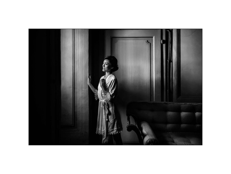 Black and white wedding_ Castello di Meleto :: Photo - 2