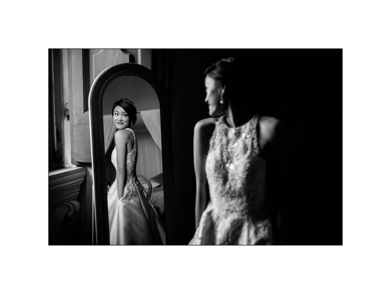 Black and white wedding_ Castello di Meleto :: Photo - 8
