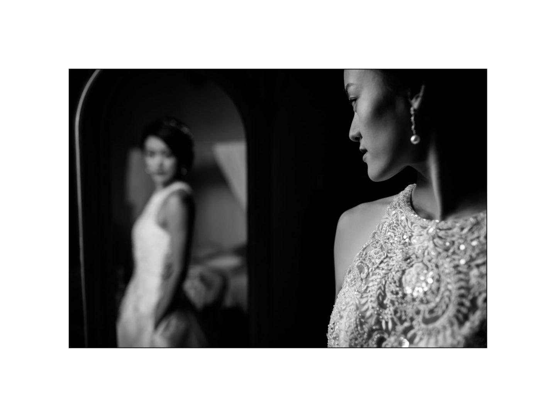 Black and white wedding_ Castello di Meleto :: Photo - 9