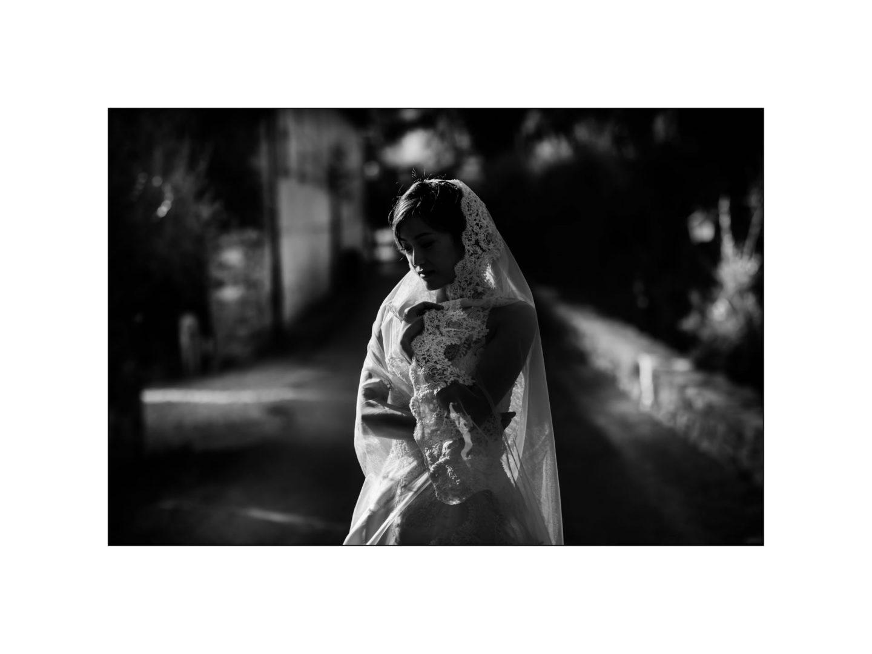 Black and white wedding_ Castello di Meleto :: Photo - 10