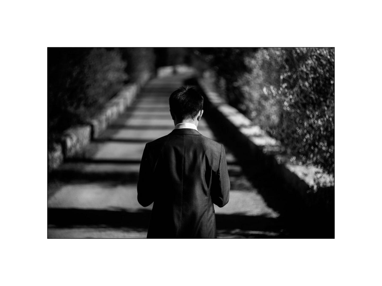 Black and white wedding_ Castello di Meleto :: Photo - 12