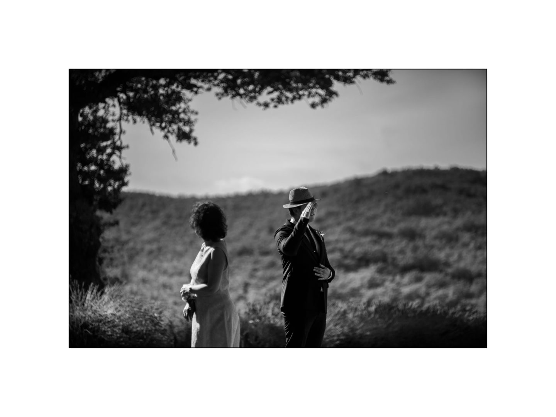 Black and white wedding_ Castello di Meleto :: Photo - 13