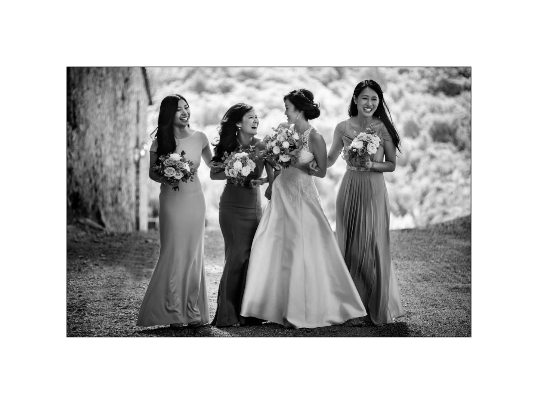 Black and white wedding_ Castello di Meleto :: Photo - 15