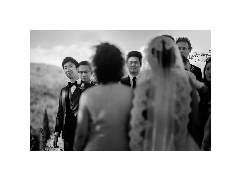 Black and white wedding_ Castello di Meleto :: Photo - 16