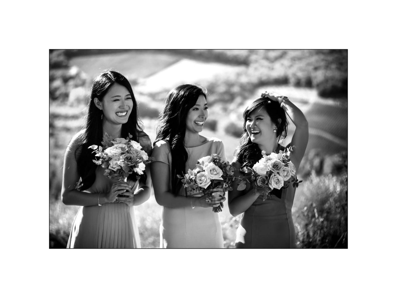 Black and white wedding_ Castello di Meleto :: Photo - 18