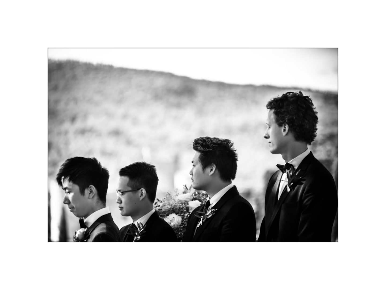 Black and white wedding_ Castello di Meleto :: Photo - 19