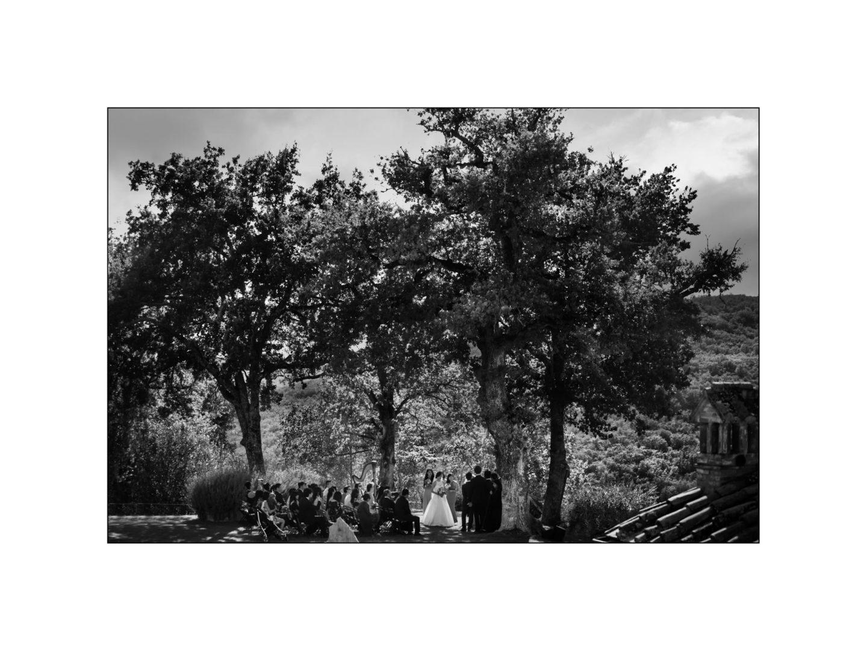 Black and white wedding_ Castello di Meleto :: Photo - 20
