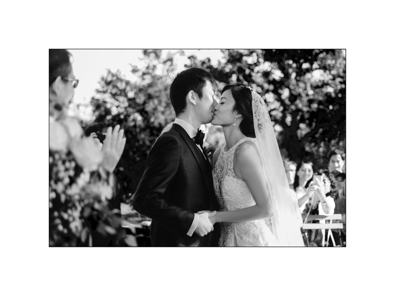 Black and white wedding_ Castello di Meleto :: Photo - 23