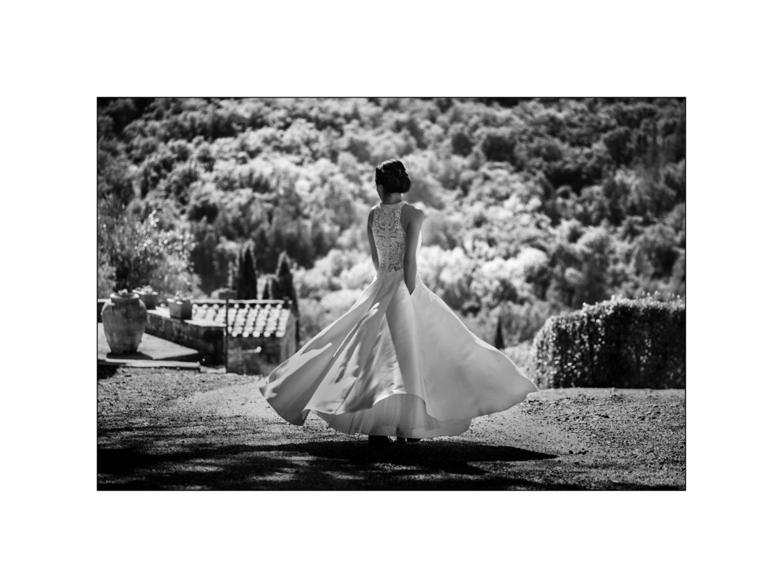 Black and white wedding_ Castello di Meleto :: Photo - 28