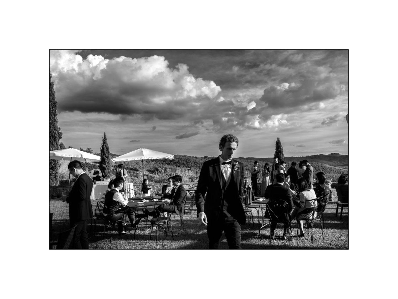 Black and white wedding_ Castello di Meleto :: Photo - 29
