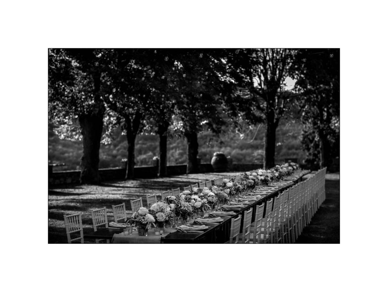 Black and white wedding_ Castello di Meleto :: Photo - 32