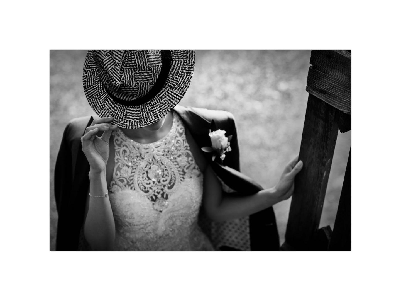 Black and white wedding_ Castello di Meleto :: Photo - 33
