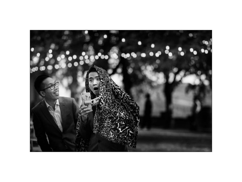 Black and white wedding_ Castello di Meleto :: Photo - 36