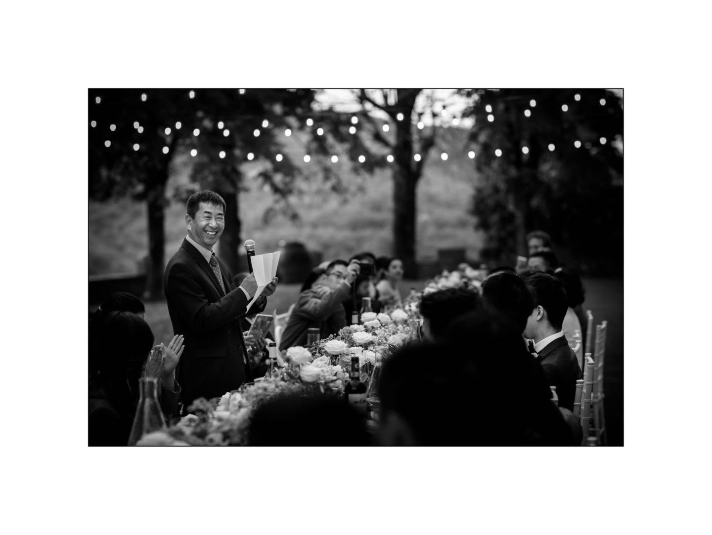 Black and white wedding_ Castello di Meleto :: Photo - 38