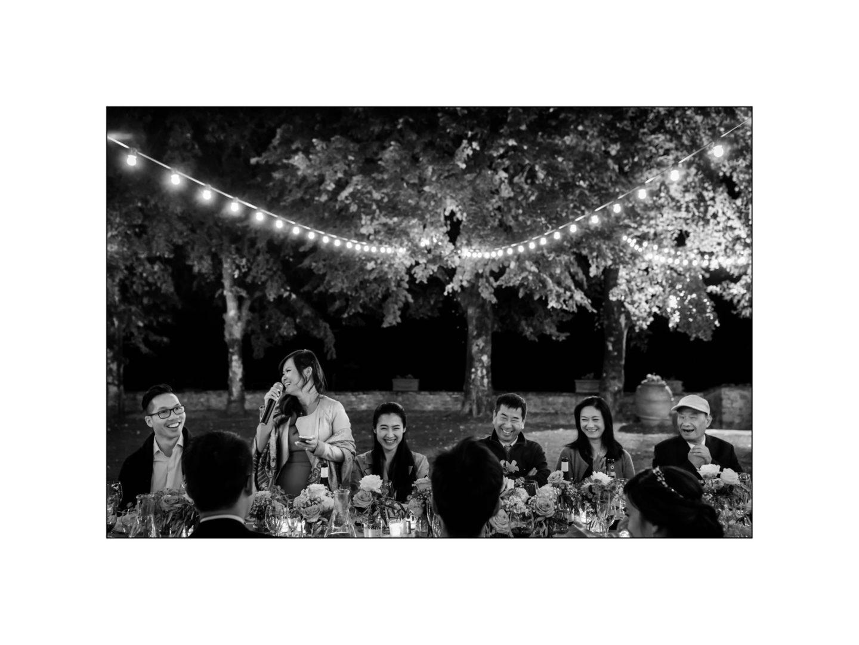 Black and white wedding_ Castello di Meleto :: Photo - 40