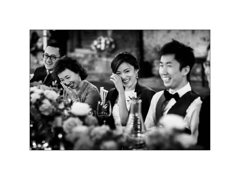Black and white wedding_ Castello di Meleto :: Photo - 41
