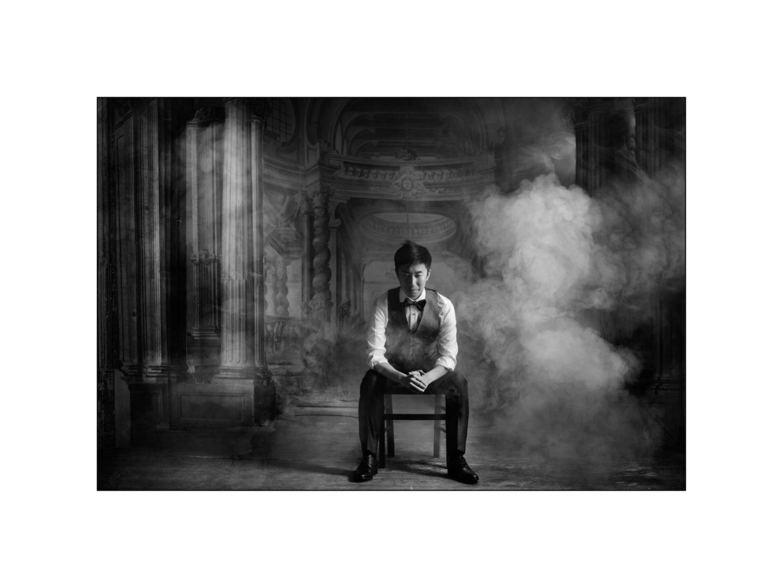 Black and white wedding_ Castello di Meleto :: Photo - 44