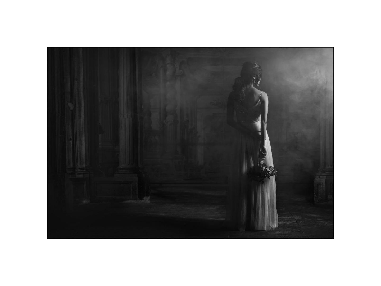 Black and white wedding_ Castello di Meleto :: Photo - 46