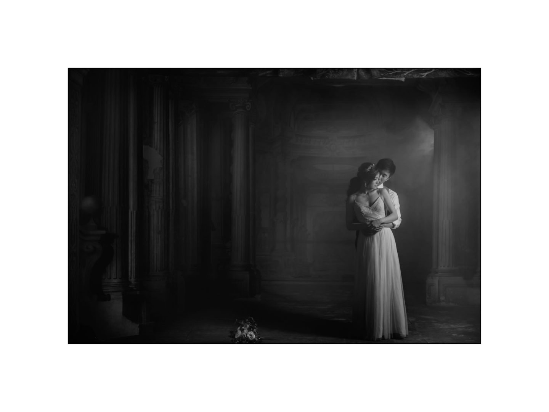 Black and white wedding_ Castello di Meleto :: Photo - 47
