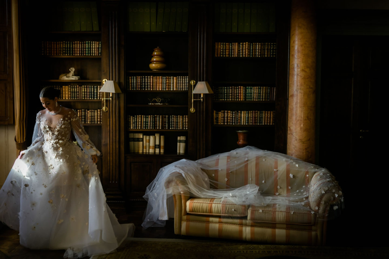 Veil :: Luxury wedding at Il Borro :: Luxury wedding photography - 8 :: Veil