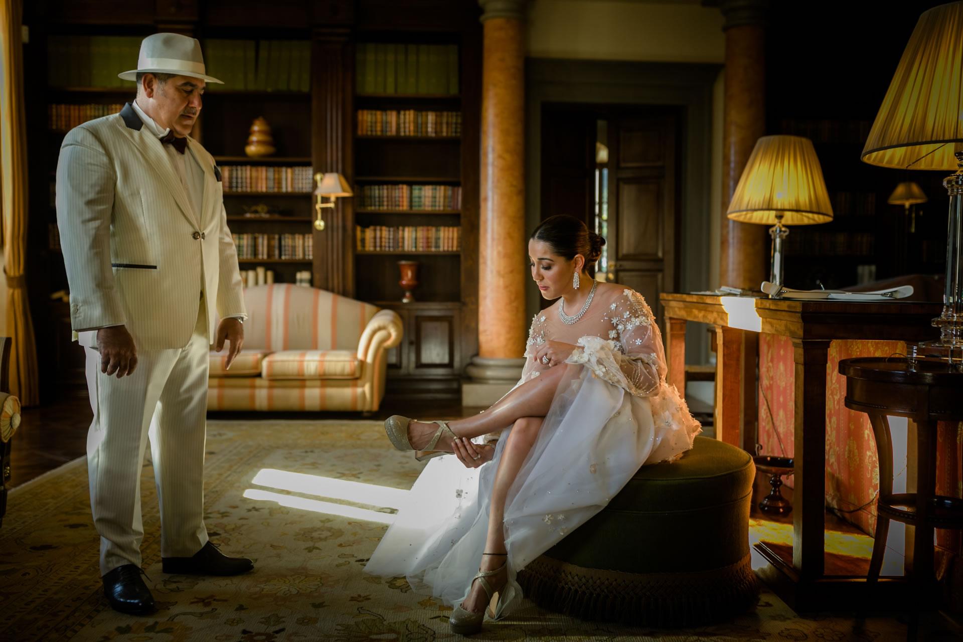 Father - 11 :: Luxury wedding at Il Borro :: Luxury wedding photography - 10 :: Father - 11