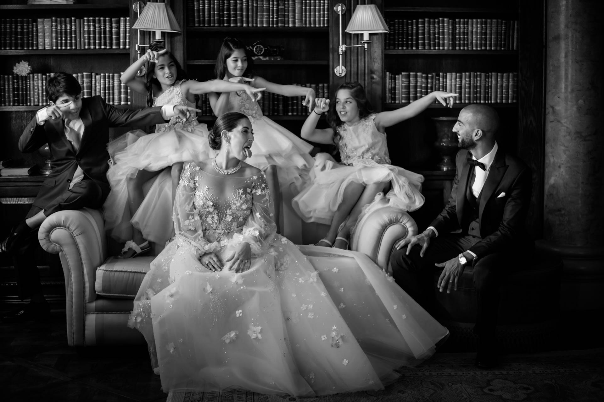 Friends - 13 :: Luxury wedding at Il Borro :: Luxury wedding photography - 12 :: Friends - 13
