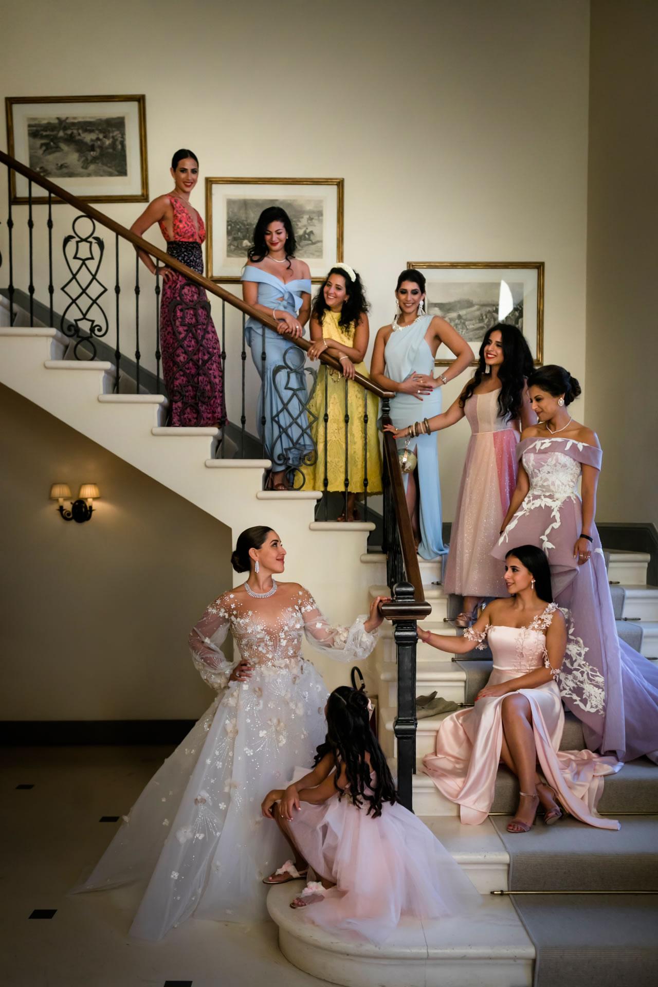 Stairs :: Luxury wedding at Il Borro :: Luxury wedding photography - 14 :: Stairs