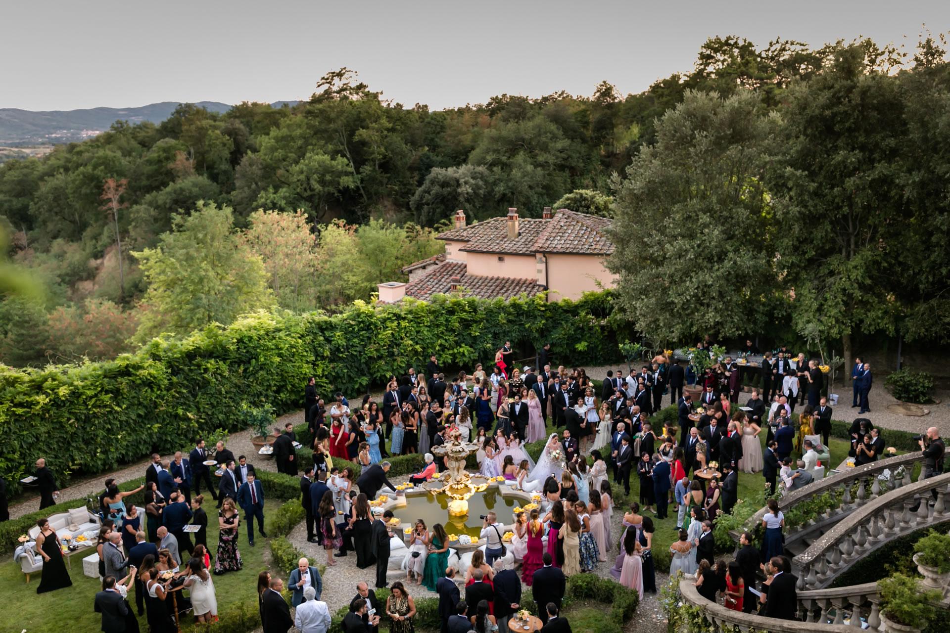 Court - 34 :: Luxury wedding at Il Borro :: Luxury wedding photography - 33 :: Court - 34