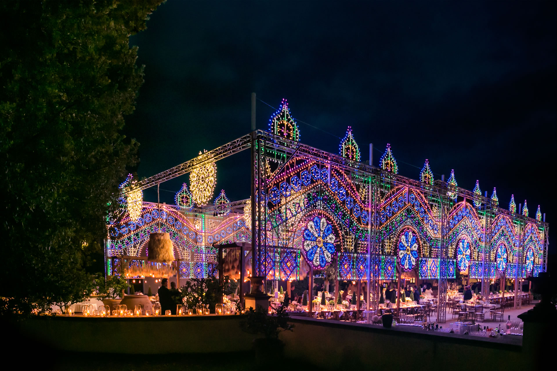Lights - 44 :: Luxury wedding at Il Borro :: Luxury wedding photography - 43 :: Lights - 44