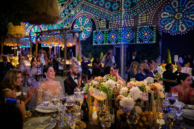 Dinner :: Luxury wedding at Il Borro :: Luxury wedding photography - 53 :: Dinner