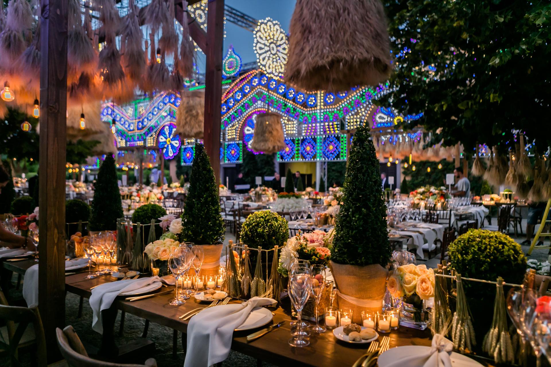 Cypresses - 55 :: Luxury wedding at Il Borro :: Luxury wedding photography - 54 :: Cypresses - 55