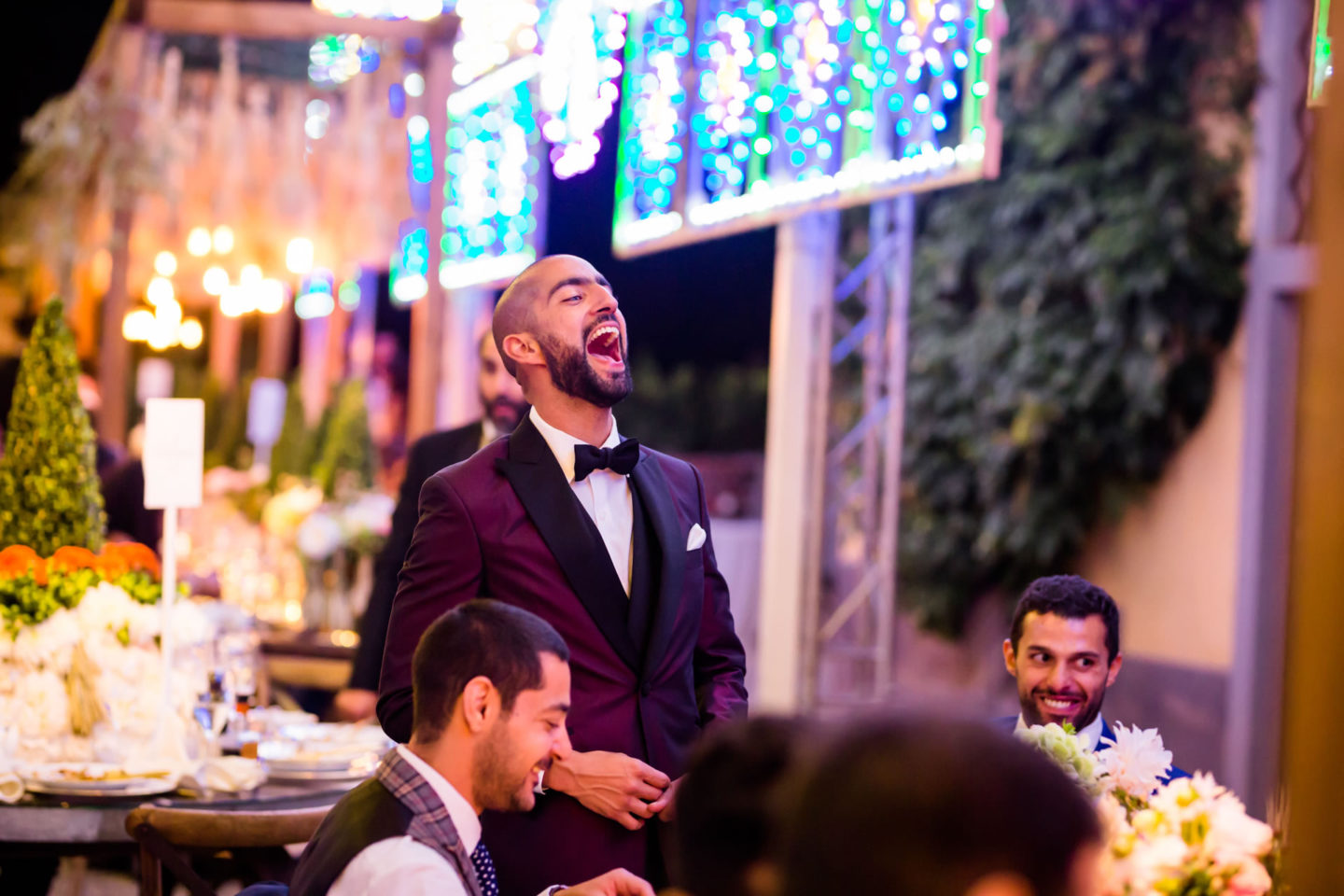 Laughter :: Luxury wedding at Il Borro :: Luxury wedding photography - 57 :: Laughter