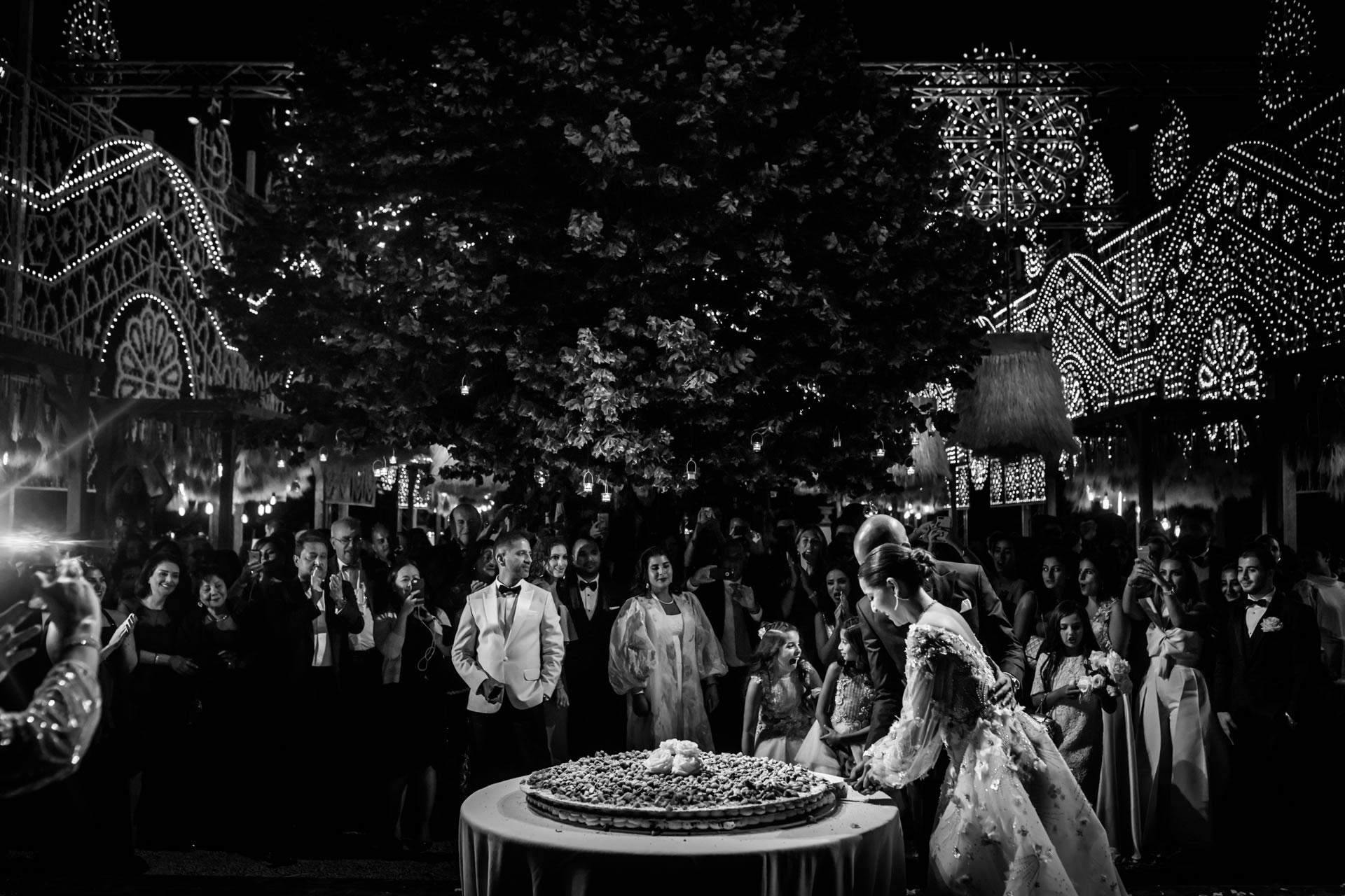 Cake Cut - 67 :: Luxury wedding at Il Borro :: Luxury wedding photography - 66 :: Cake Cut - 67